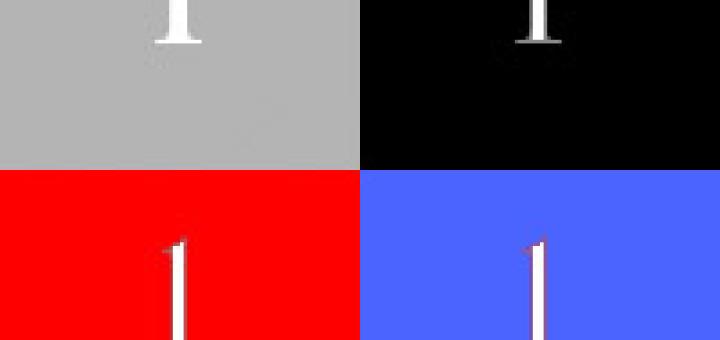 CSS sprite példa kép